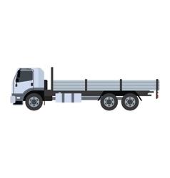 Cargo freight transportation truck vector