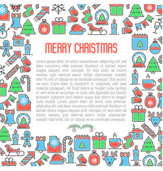 Christmas celebration concept vector