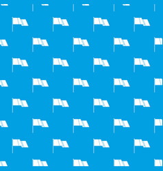 Flag pattern seamless blue vector