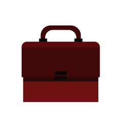 Portfolio suitcase document icon vector