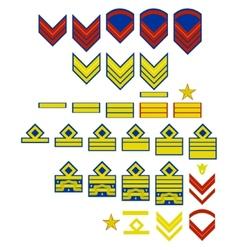 Italian Air Force insignia vector image vector image