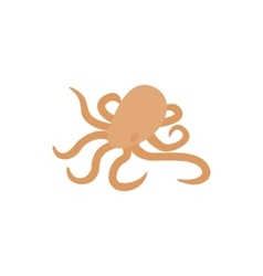 Octopus icon isometric 3d style vector image vector image