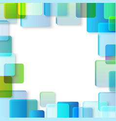 Abstract background of different color squares vector image