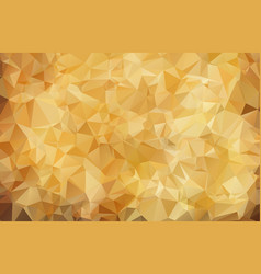 abstract brown background of geometric shapes vector image