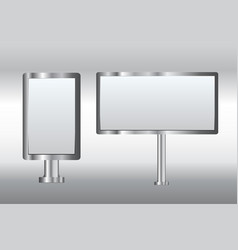 bulletin boards vector image