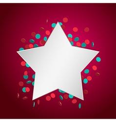 celebration star2 vector image