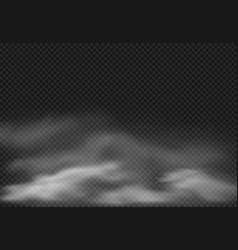 Fog effect smoke clouds cloudy mist vector