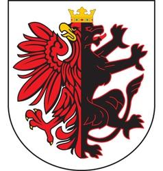Kujawpomorskie Province vector image