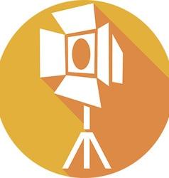 Movie Spotlight Icon vector image vector image