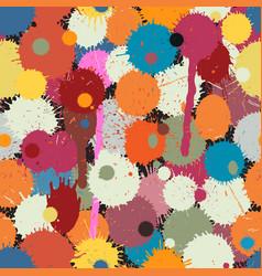 paint drops tile vector image