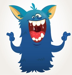 Cute cartoon monster vector