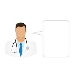 Doctor - Avatars and User Icons vector image