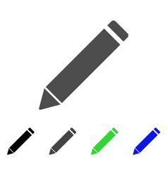 Edit pencil flat icon vector