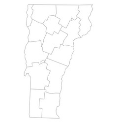 Vermont County Map Vector Images (40)