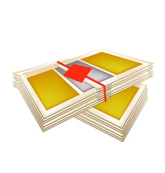 Pile of Joss Paper for Chinese New Year vector