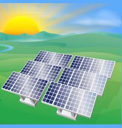 Solar power energy vector