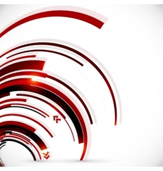 Abstract dark red spiral background vector image vector image
