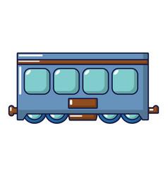 fast train icon cartoon style vector image