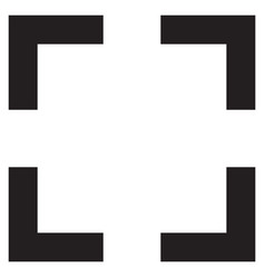 frame icon vector image
