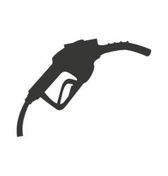 gasoline dispensing gun isolated icon design vector image