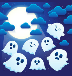 Ghost thematics image 6 vector