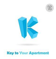K letter logo vector