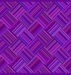 Purple geometric diagonal striped square pattern vector