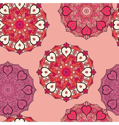 Seamless pattern in eastern style Print with vector image