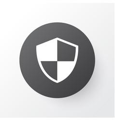 Shield icon symbol premium quality isolated vector