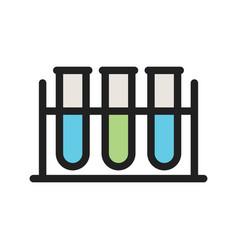 Test tubes vector