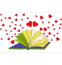 The Book of Love vector image