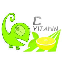 lemon fruit vector image