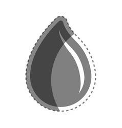 Grayscale drop blood donation transfusion vector