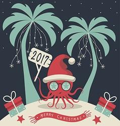 merry christmas 5123 vector image