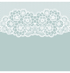 Horizontal seamless background vector image