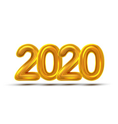 2020 new year celebrate concept banner vector