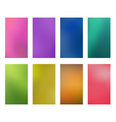 collection bright abstract multicolored vector image