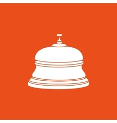 hotel bell design vector image