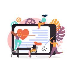 medicine concept for web banner website vector image