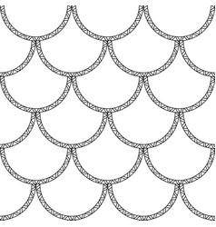 mermaid tail texture black fish scales vector image