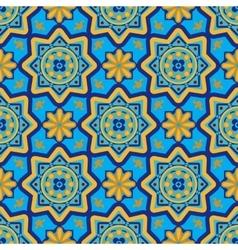 Arabic seamless patterns vector image