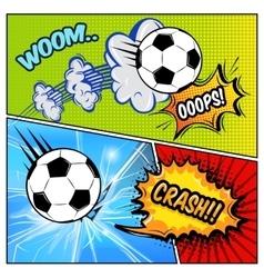Broken Window Comics Page vector image