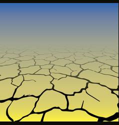 gradient cracks background vector image vector image