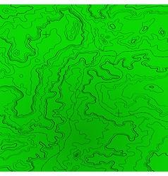 Topographic map radar colors vector image