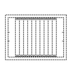 football field design vector image