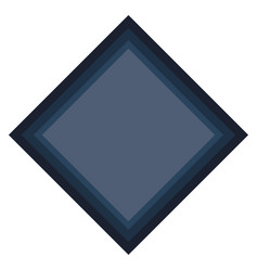 Geometric frame icon vector