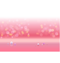 pink shiny sparkles vector image