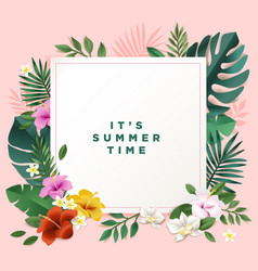 summer concept vector image