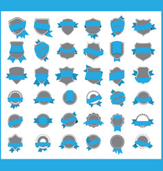top pr marketing labels set 10 vector image