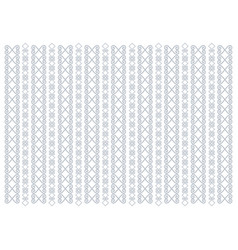 White background with vertical ornament stripe vector